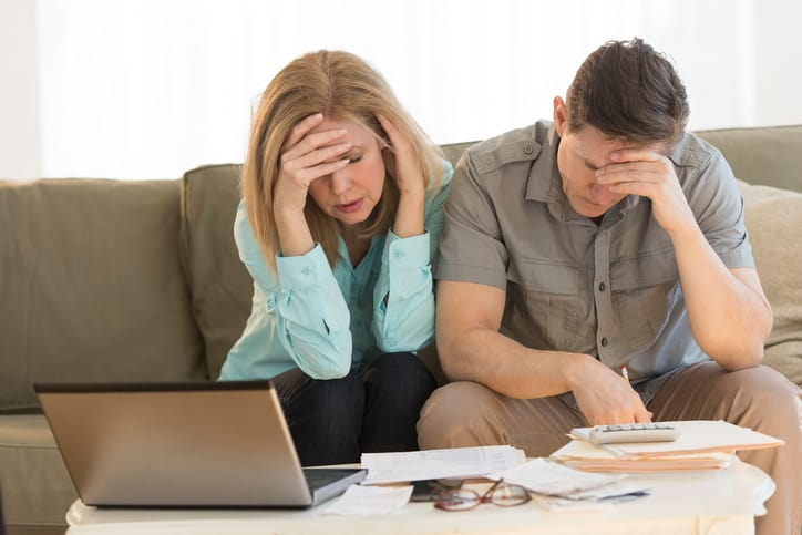 Cutler Bankruptcy - Worried mature couple